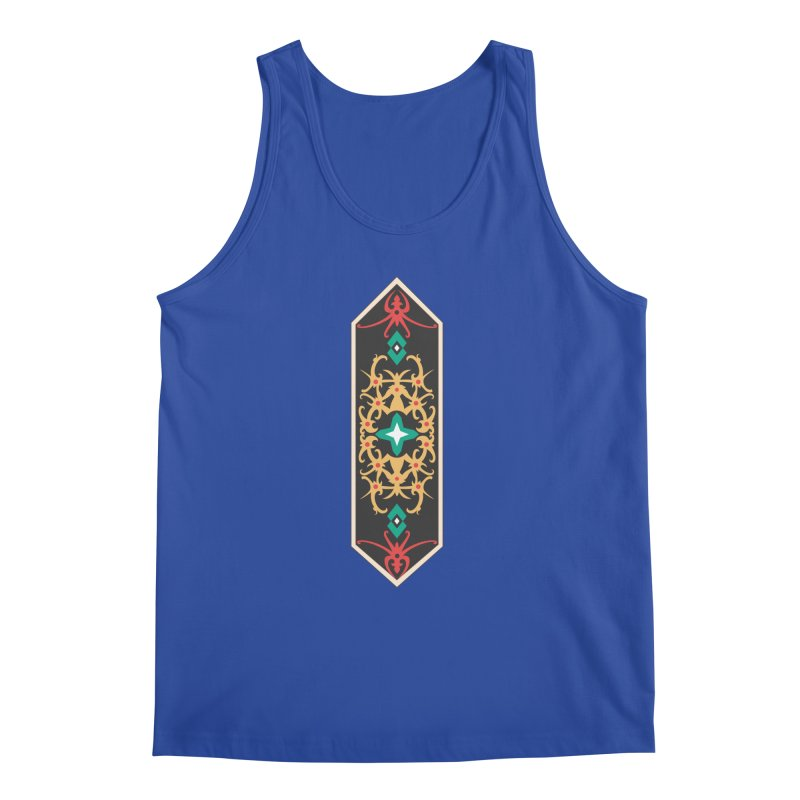 Gold, Banner Of Royals Men's Tank by My Shirty Life