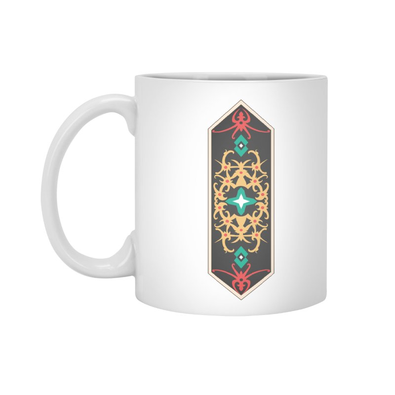 Gold, Banner Of Royals Accessories Mug by My Shirty Life