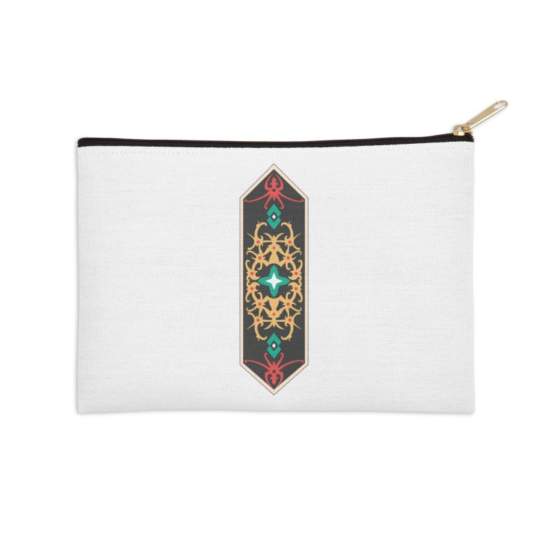 Gold, Banner Of Royals Accessories Zip Pouch by My Shirty Life