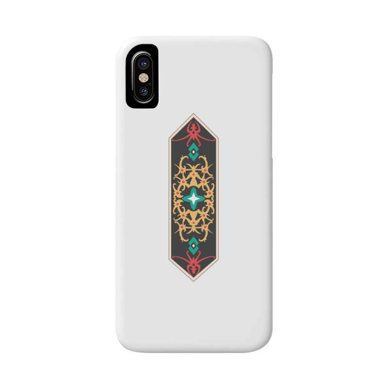 Gold, Banner Of Royals Accessories Phone Case by My Shirty Life
