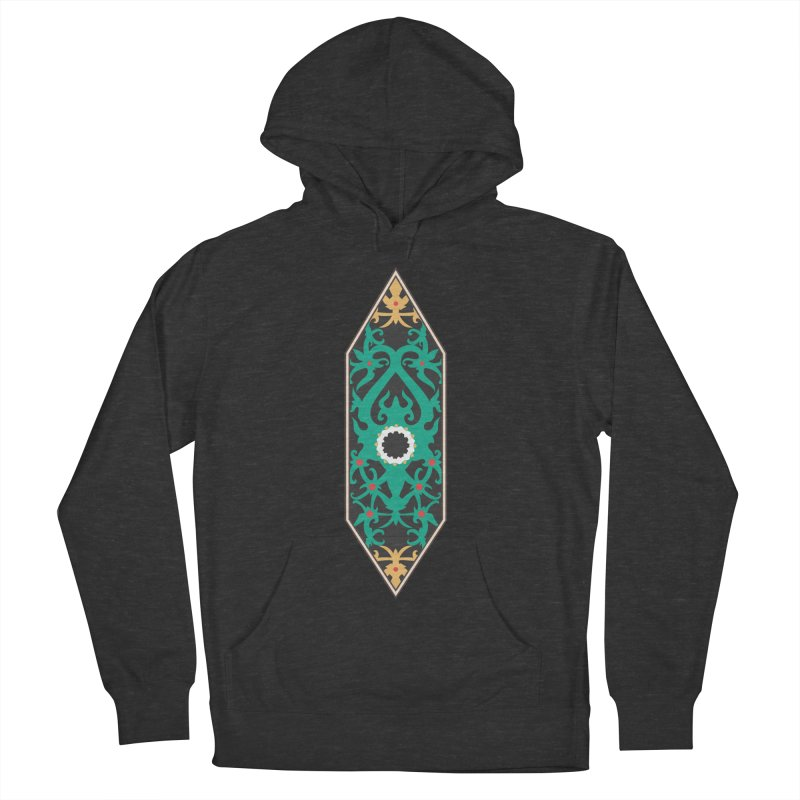 Emerald, Banner Of Thorns Women's French Terry Pullover Hoody by My Shirty Life