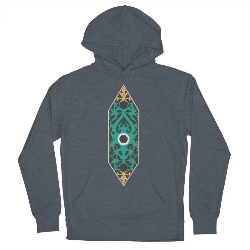 Emerald, Banner Of Thorns Men's Pullover Hoody by My Shirty Life