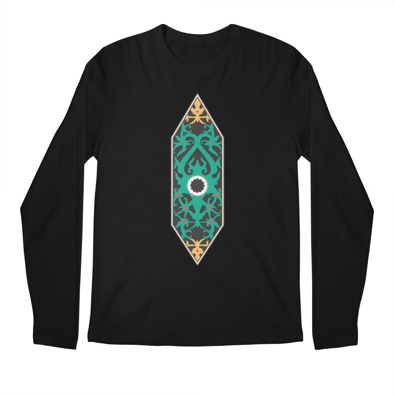 Emerald, Banner Of Thorns Men's Regular Longsleeve T-Shirt by My Shirty Life