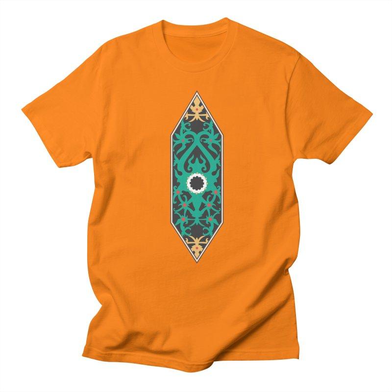 Emerald, Banner Of Thorns Men's Regular T-Shirt by My Shirty Life