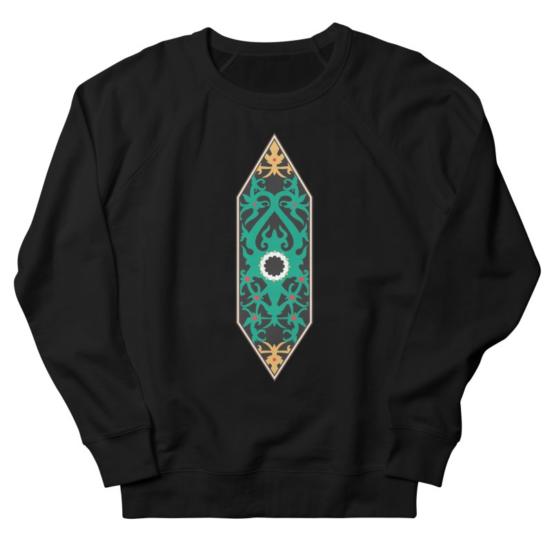 Emerald, Banner Of Thorns Women's French Terry Sweatshirt by My Shirty Life