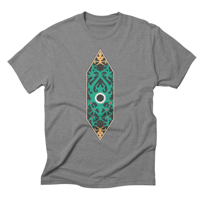 Emerald, Banner Of Thorns Men's Triblend T-Shirt by My Shirty Life
