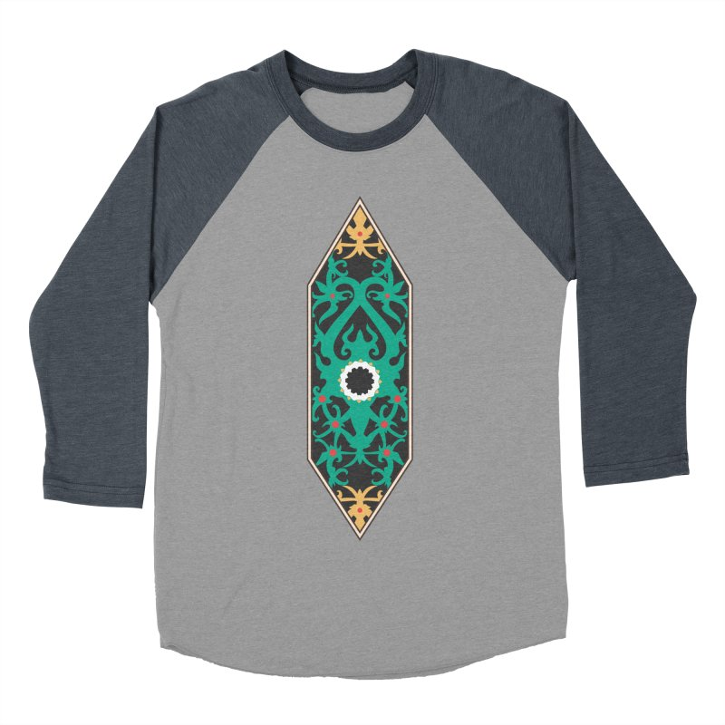 Emerald, Banner Of Thorns Women's Baseball Triblend Longsleeve T-Shirt by My Shirty Life
