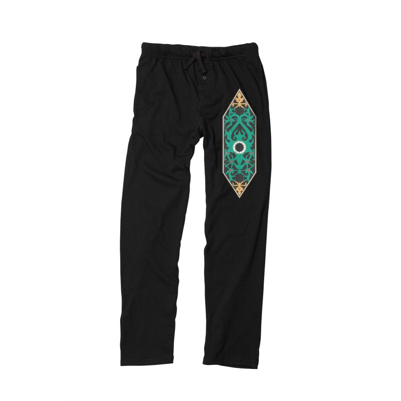 Emerald, Banner Of Thorns Men's Lounge Pants by My Shirty Life