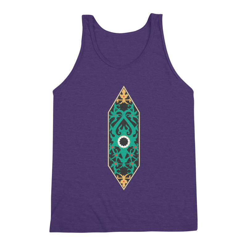 Emerald, Banner Of Thorns Men's Triblend Tank by My Shirty Life