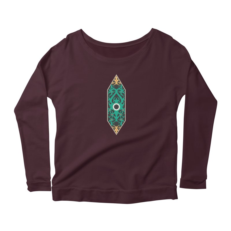 Emerald, Banner Of Thorns Women's Longsleeve T-Shirt by My Shirty Life