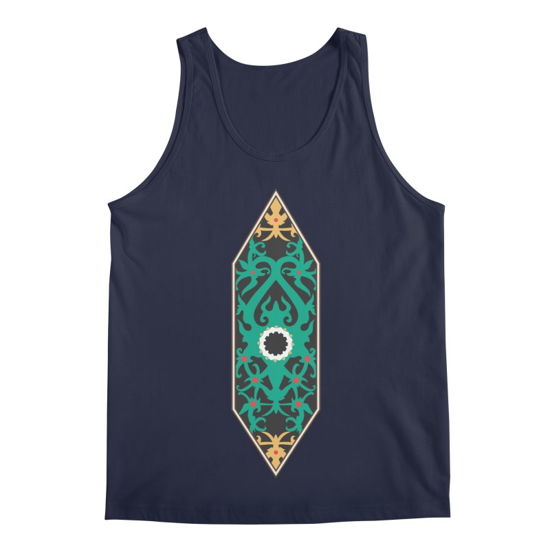 Emerald, Banner Of Thorns Men's Regular Tank by My Shirty Life