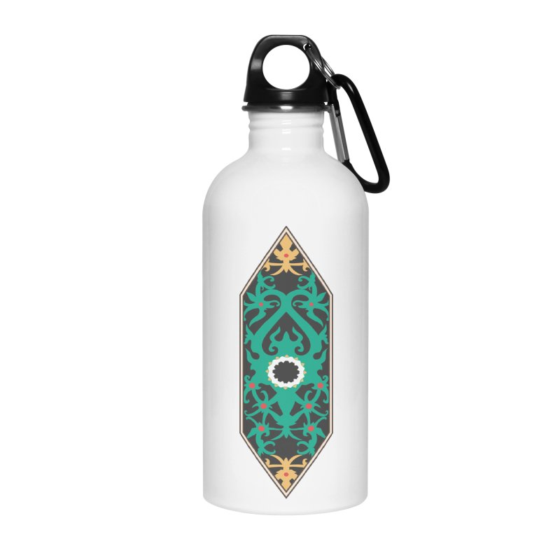 Emerald, Banner Of Thorns Accessories Water Bottle by My Shirty Life