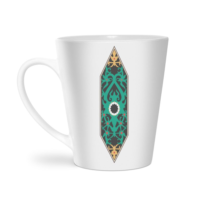 Emerald, Banner Of Thorns Accessories Latte Mug by My Shirty Life