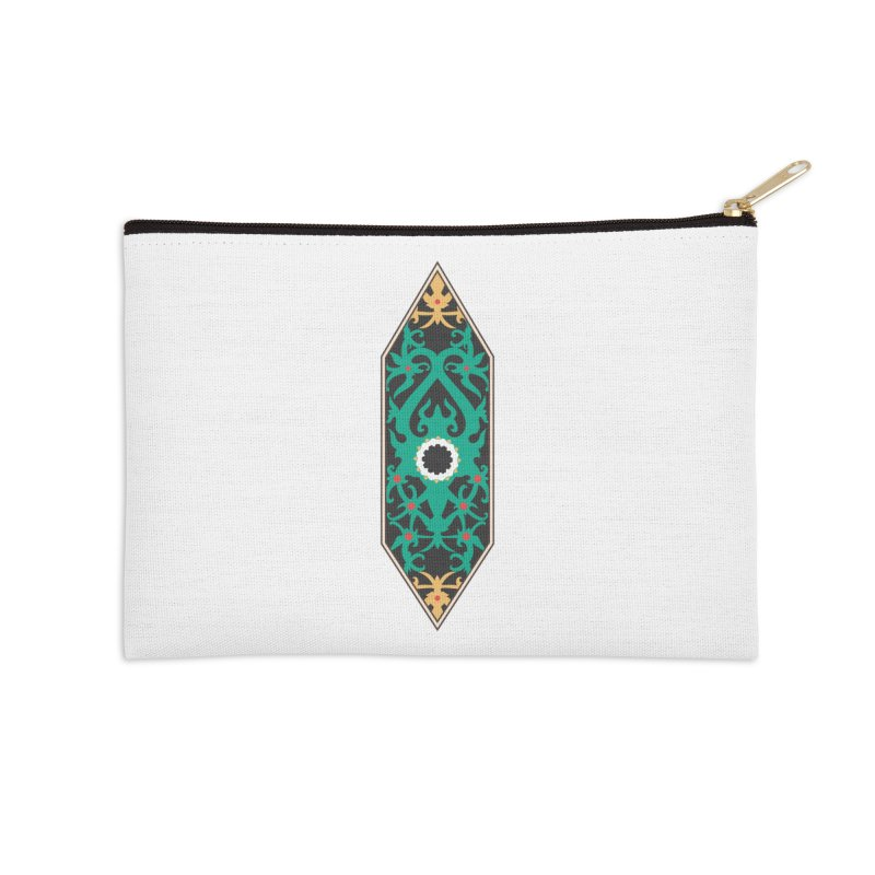 Emerald, Banner Of Thorns Accessories Zip Pouch by My Shirty Life