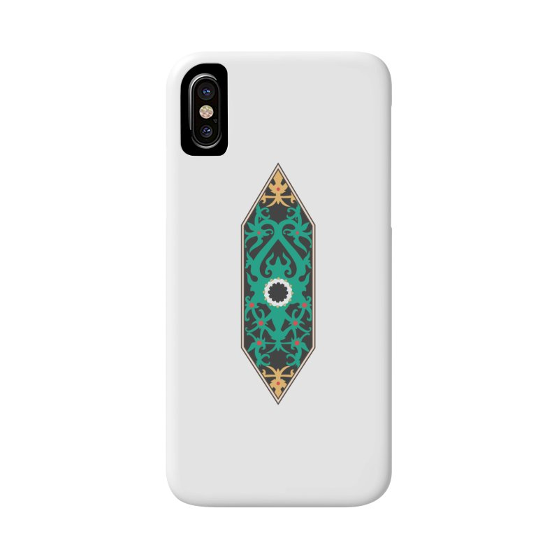 Emerald, Banner Of Thorns Accessories Phone Case by My Shirty Life