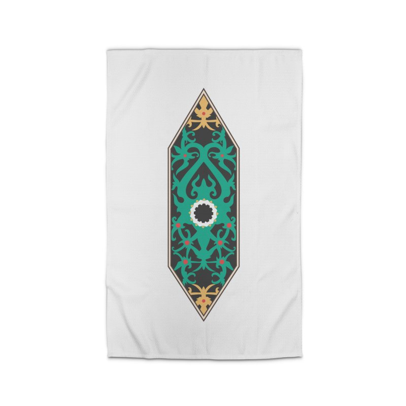 Emerald, Banner Of Thorns Home Rug by My Shirty Life