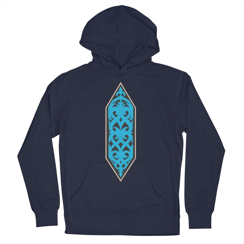 Azure, Banner Of The Sky and Sea Women's French Terry Pullover Hoody by My Shirty Life