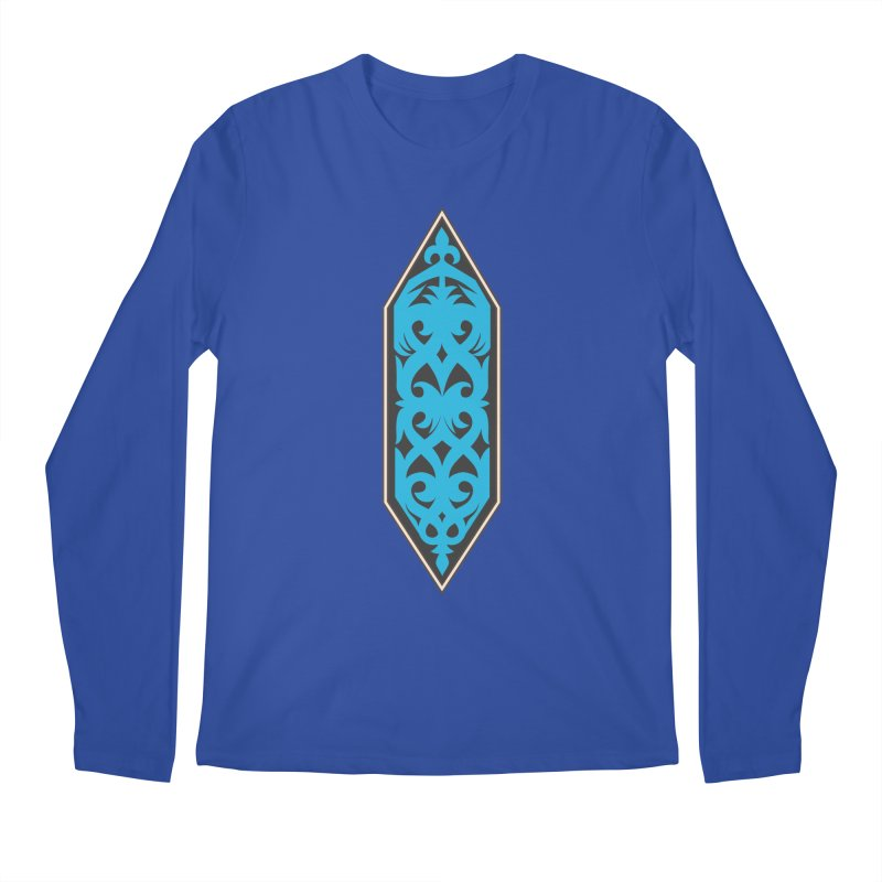 Azure, Banner Of The Sky and Sea Men's Regular Longsleeve T-Shirt by My Shirty Life