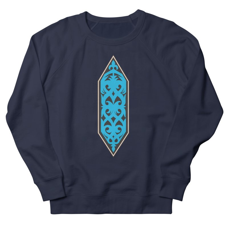 Azure, Banner Of The Sky and Sea Women's French Terry Sweatshirt by My Shirty Life