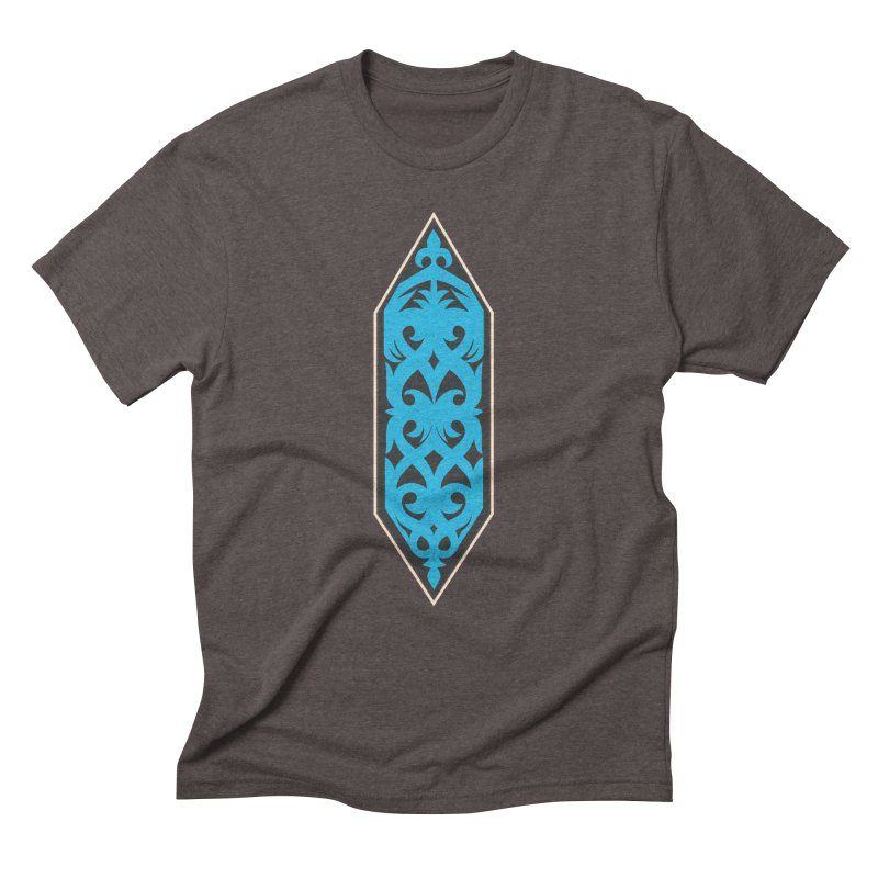 Azure, Banner Of The Sky and Sea Men's Triblend T-Shirt by My Shirty Life
