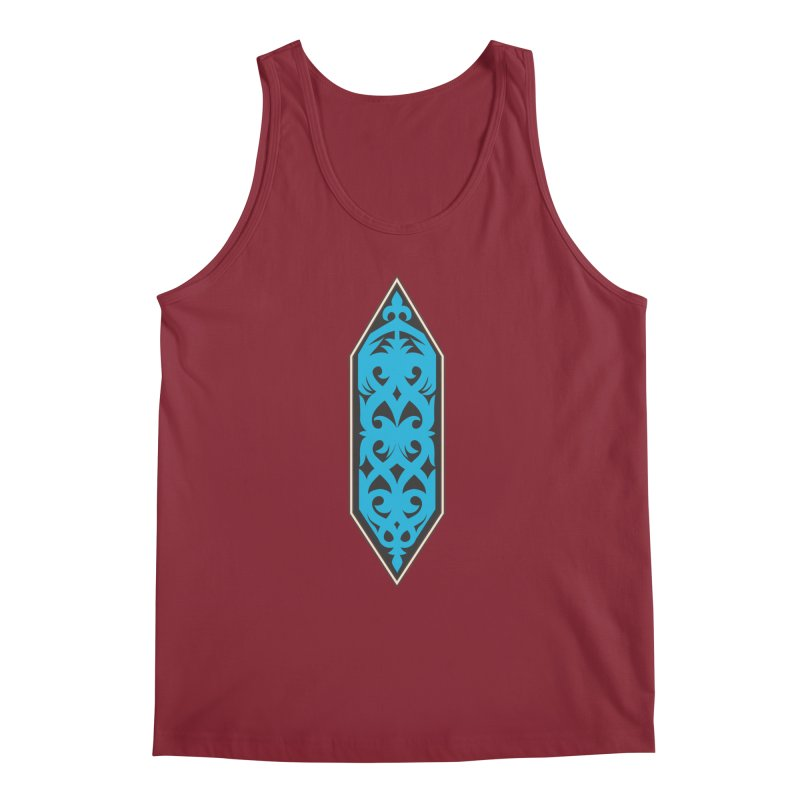 Azure, Banner Of The Sky and Sea Men's Regular Tank by My Shirty Life