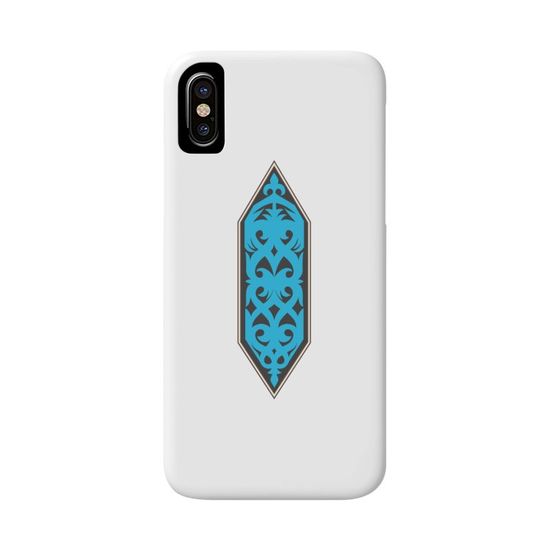 Azure, Banner Of The Sky and Sea Accessories Phone Case by My Shirty Life