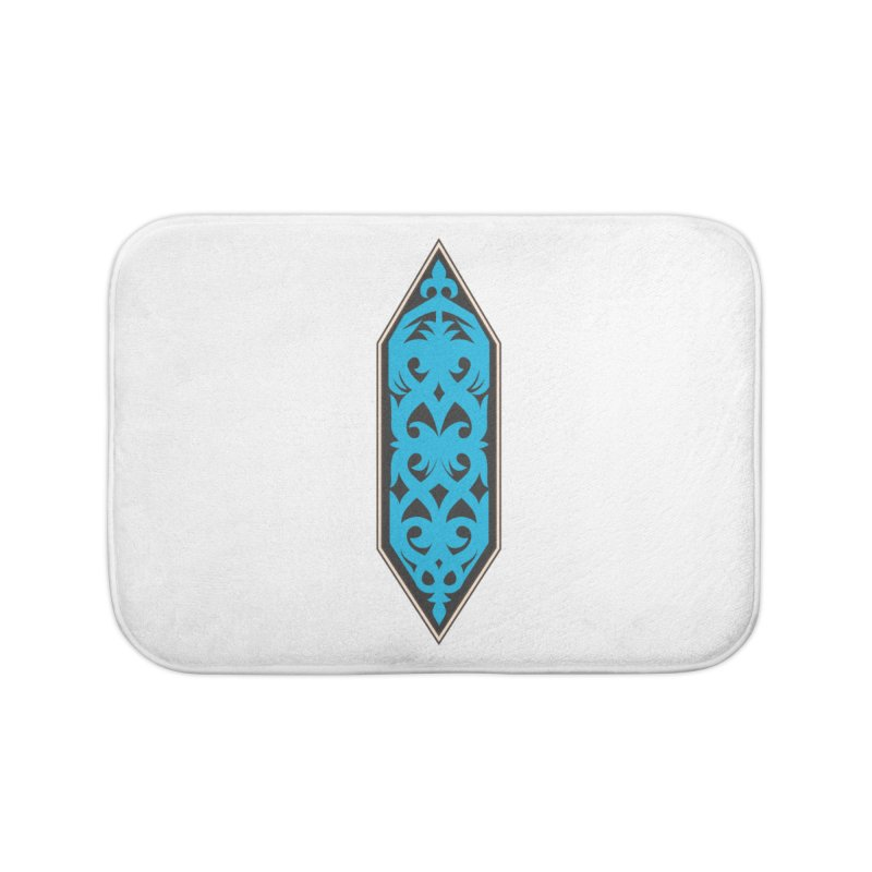 Azure, Banner Of The Sky and Sea Home Bath Mat by My Shirty Life