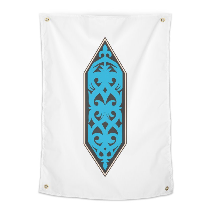 Azure, Banner Of The Sky and Sea Home Tapestry by My Shirty Life