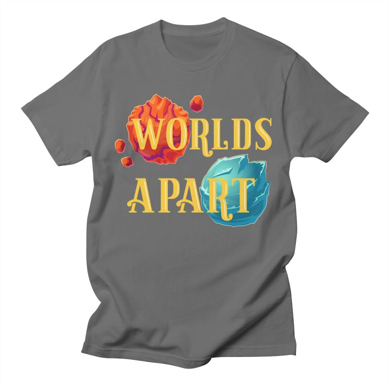 Worlds Apart Men's T-Shirt by My Shirty Life