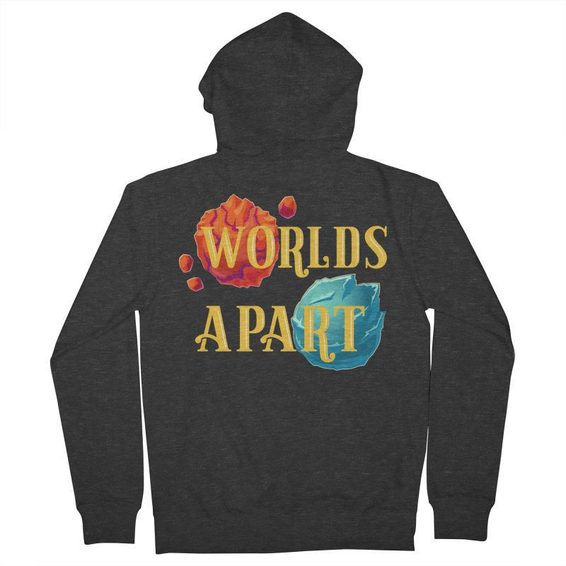 Worlds Apart Men's French Terry Zip-Up Hoody by My Shirty Life