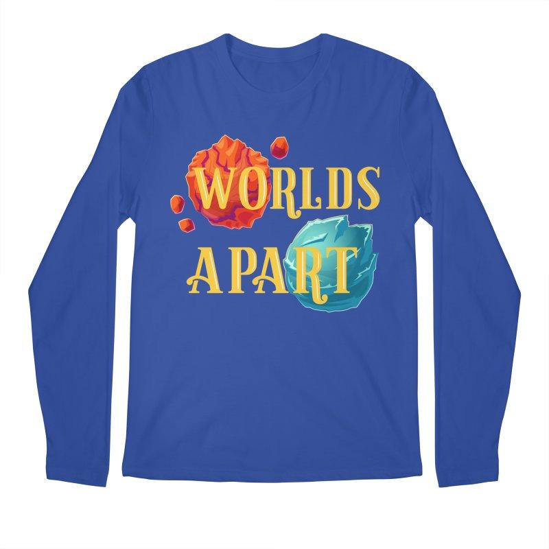 Worlds Apart Men's Regular Longsleeve T-Shirt by My Shirty Life