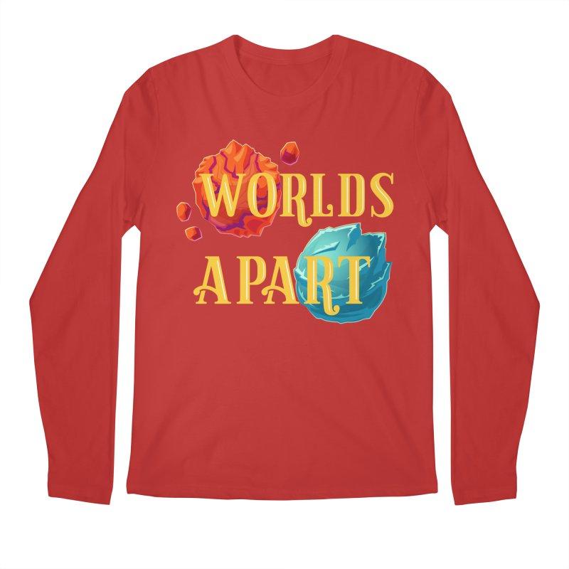Worlds Apart Men's Longsleeve T-Shirt by My Shirty Life
