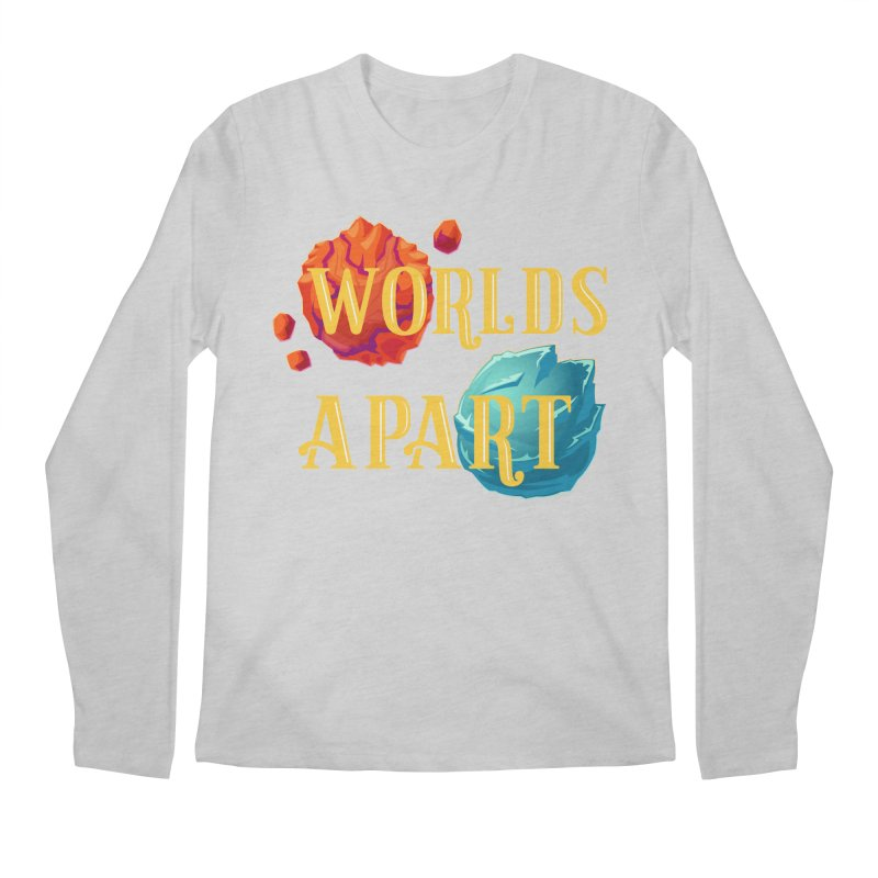 Worlds Apart Men's Regular Longsleeve T-Shirt by My Shirty Life