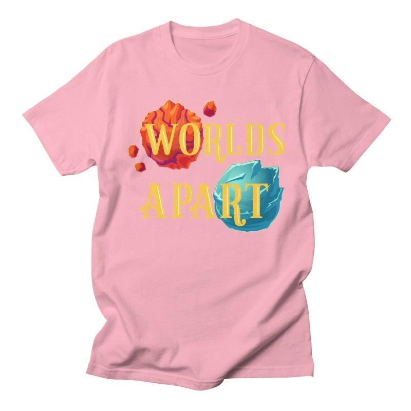 Worlds Apart Women's Regular Unisex T-Shirt by My Shirty Life
