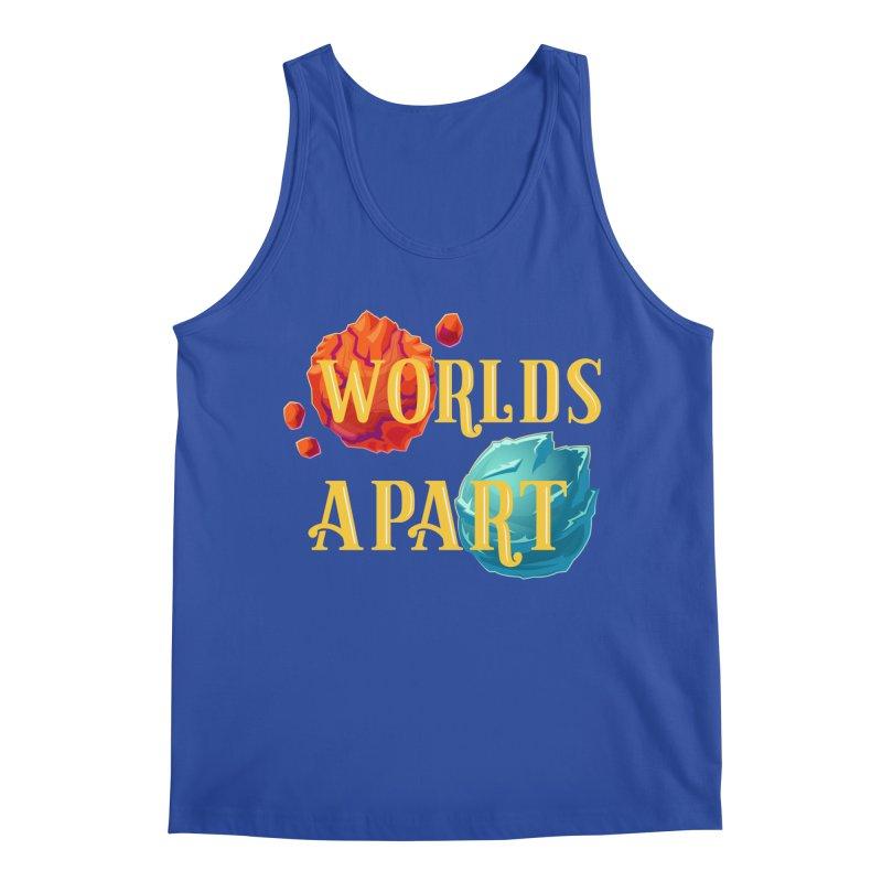 Worlds Apart Men's Regular Tank by My Shirty Life