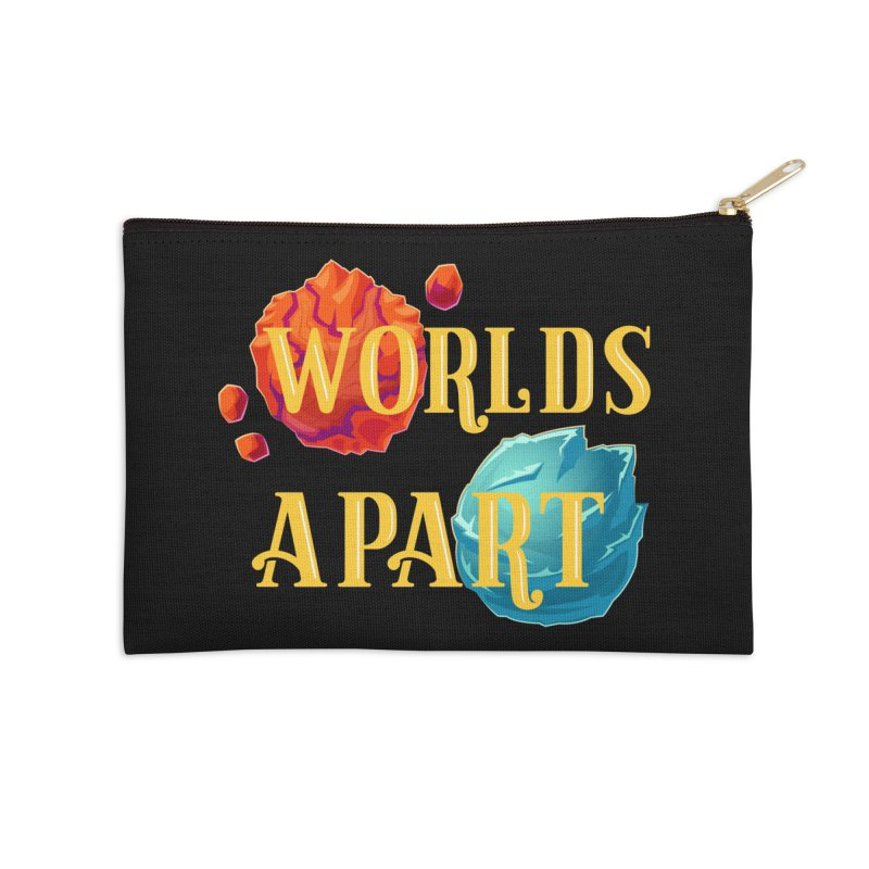 Worlds Apart Accessories Zip Pouch by My Shirty Life
