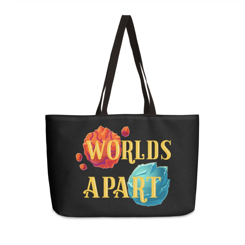 Worlds Apart Accessories Weekender Bag Bag by My Shirty Life