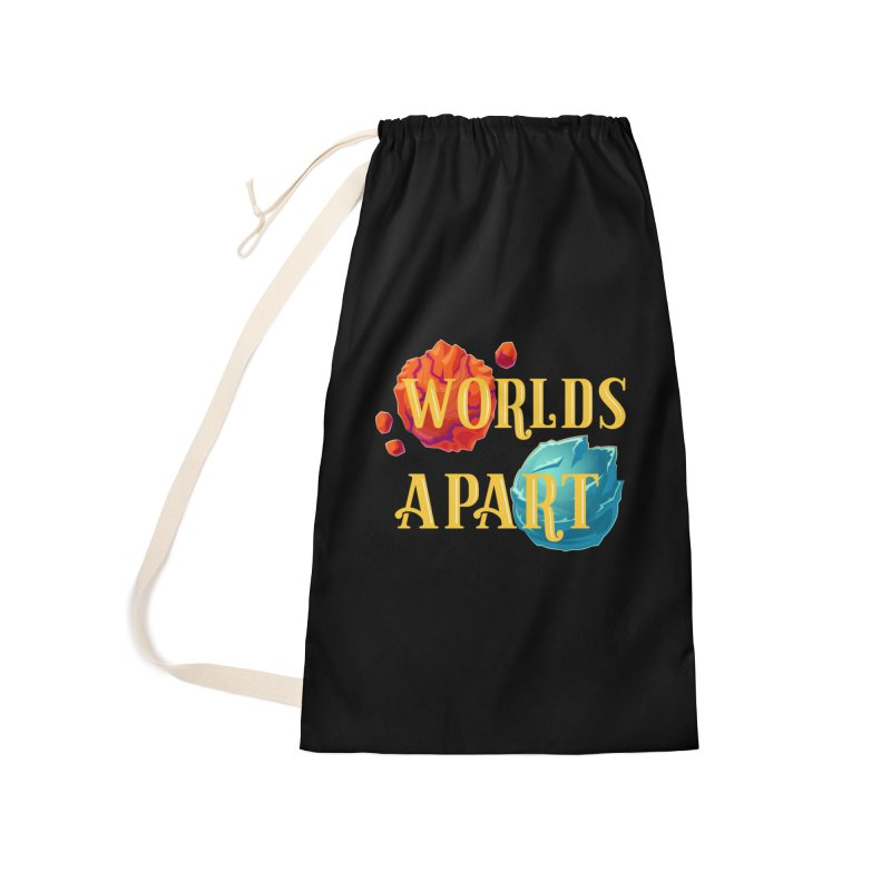 Worlds Apart Accessories Laundry Bag Bag by My Shirty Life