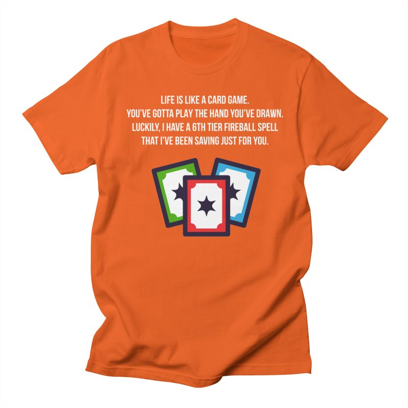 Life Is Like A Card Game... Men's Regular T-Shirt by My Shirty Life
