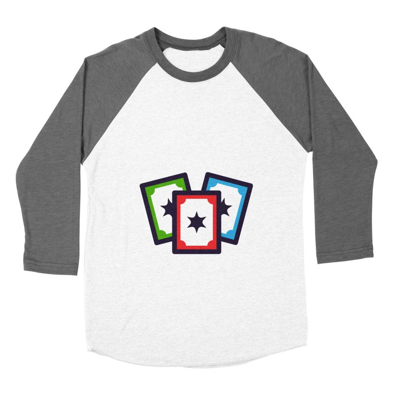 Life Is Like A Card Game... Men's Baseball Triblend Longsleeve T-Shirt by My Shirty Life