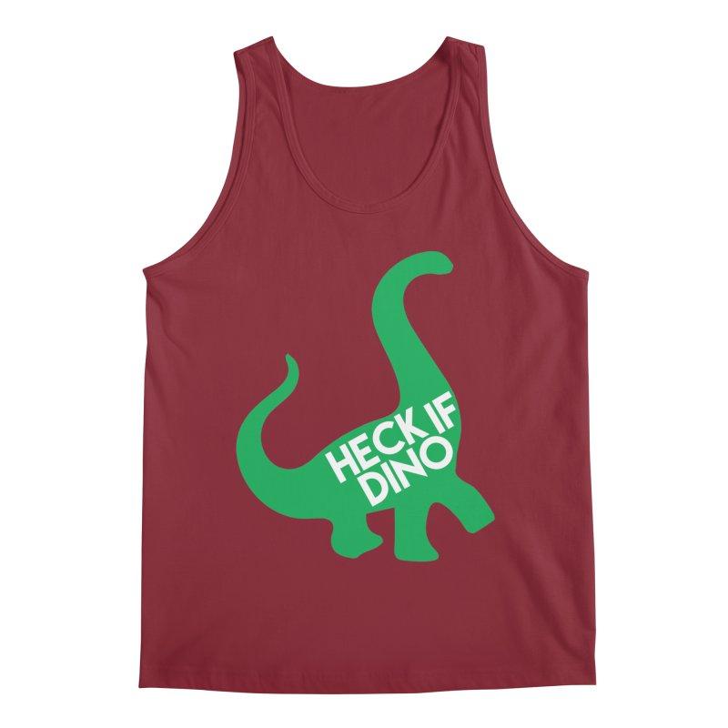 Heck If Dino Men's Regular Tank by My Shirty Life