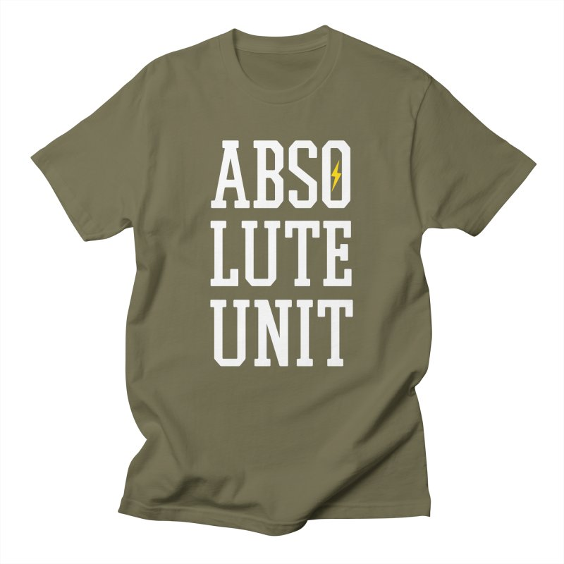Absolute Unit Men's T-Shirt by My Shirty Life