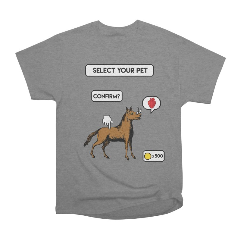 Select Your Pet v1.0 Men's Heavyweight T-Shirt by My Shirty Life