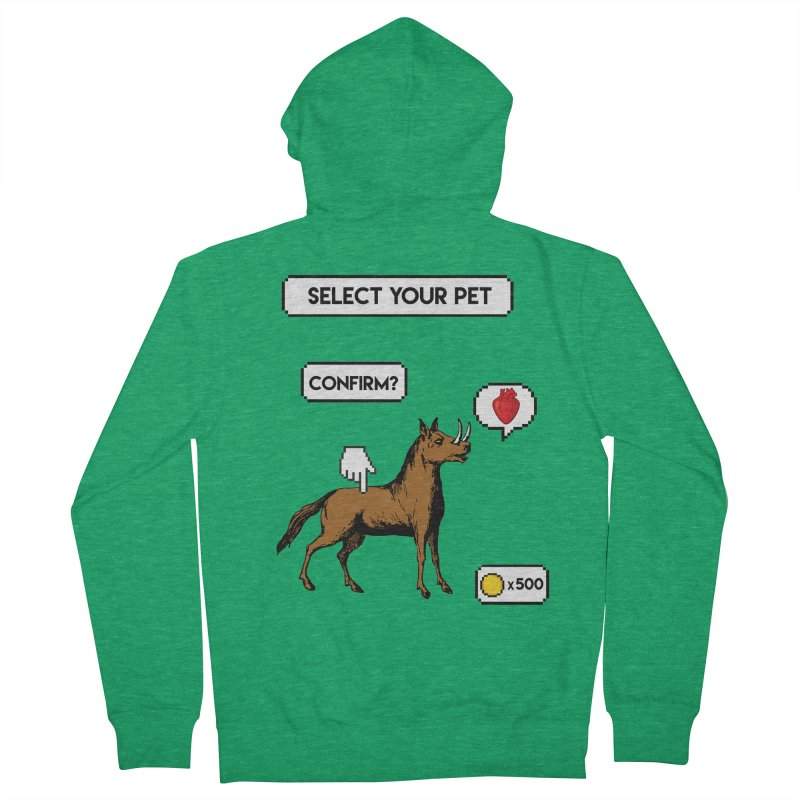 Select Your Pet v1.0 Men's French Terry Zip-Up Hoody by My Shirty Life