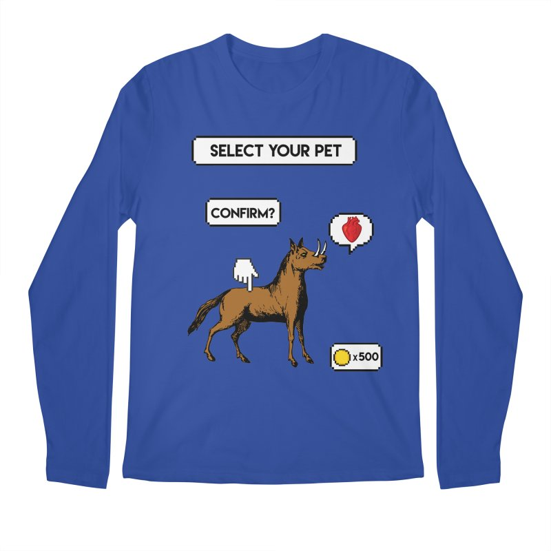 Select Your Pet v1.0 Men's Regular Longsleeve T-Shirt by My Shirty Life