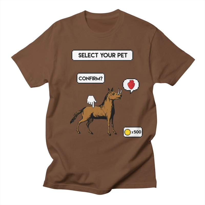 Select Your Pet v1.0 Men's T-Shirt by My Shirty Life