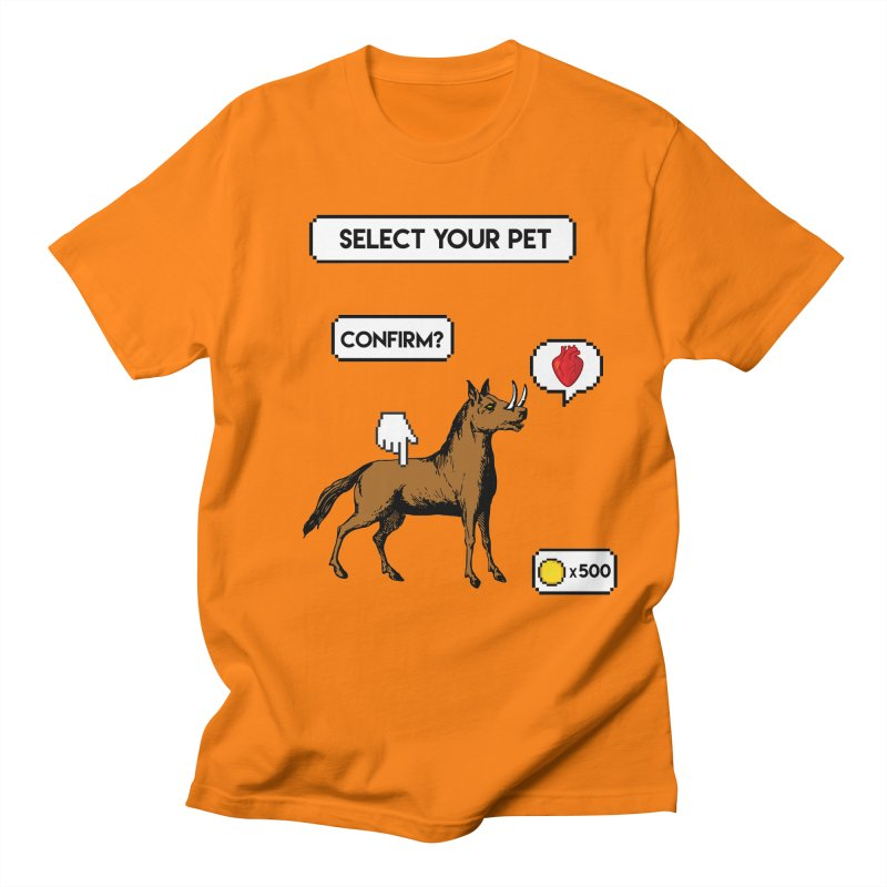 Select Your Pet v1.0 Women's Regular Unisex T-Shirt by My Shirty Life