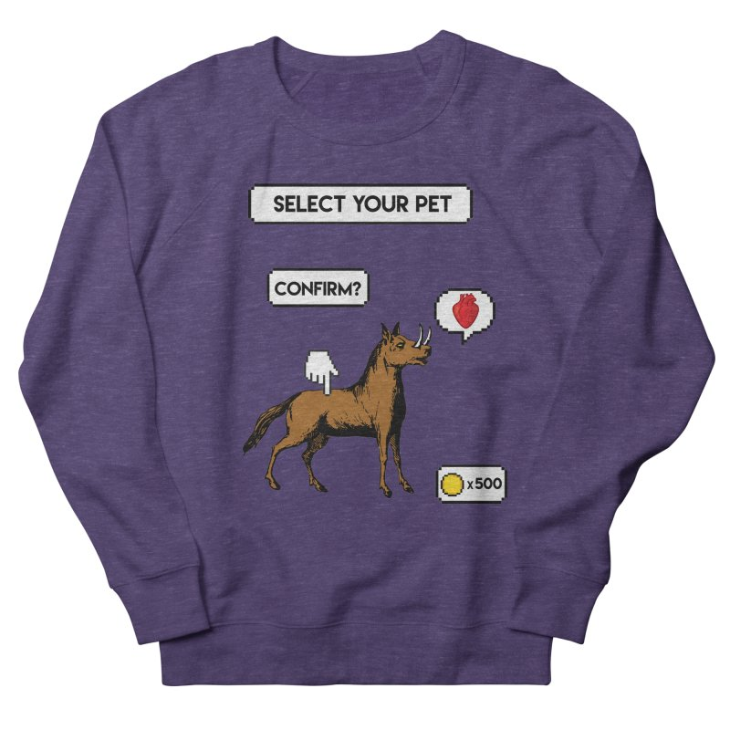 Select Your Pet v1.0 Men's French Terry Sweatshirt by My Shirty Life