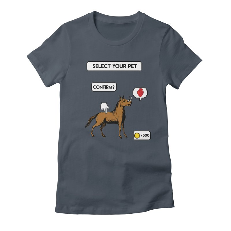 Select Your Pet v1.0 Women's T-Shirt by My Shirty Life