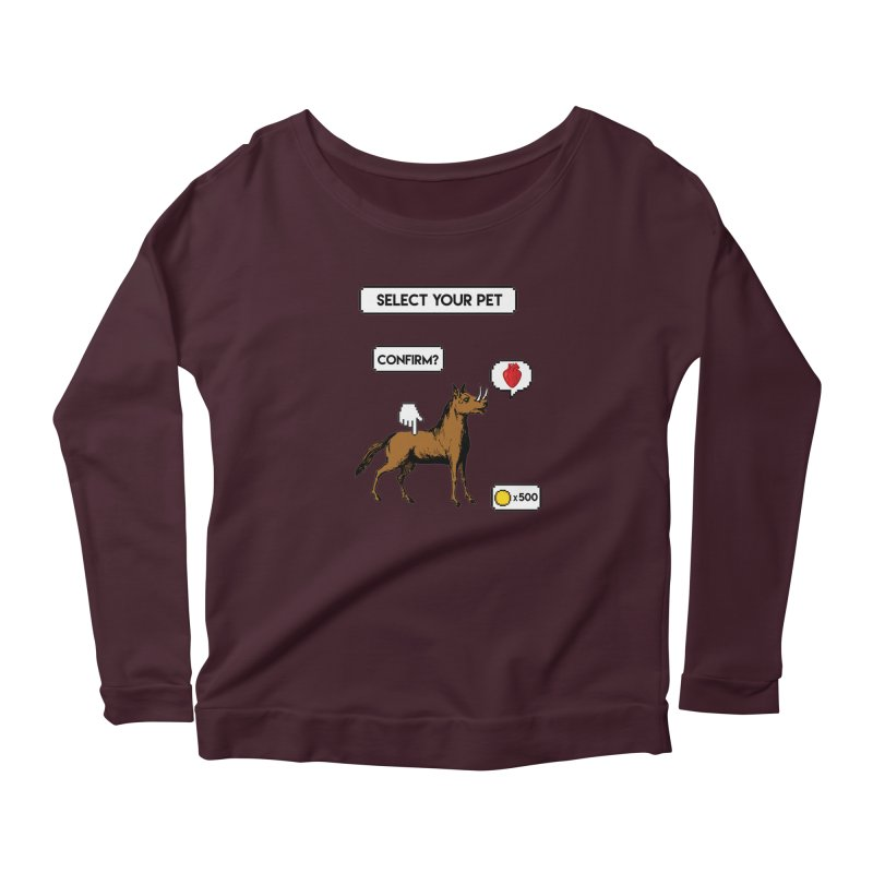 Select Your Pet v1.0 Women's Longsleeve T-Shirt by My Shirty Life